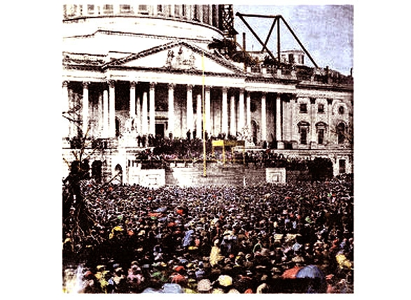 The Two Lincoln Inaugurations <br />(Inaugural Program, 1949)