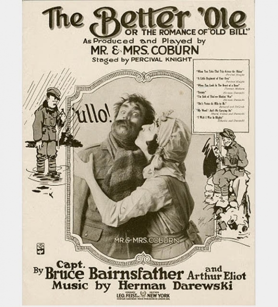 <I>THE BETTER 'OLE</i> On The London Stage <br />(Touchstone Magazine, 1918)