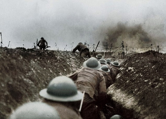 America's First Trench Raid <br />(The Stars and Stripes, 1918)