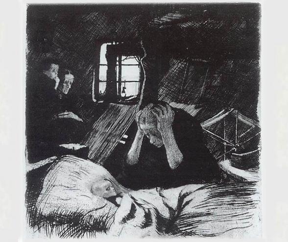 Under-Nourished German Children <br />(Magazine Advertisement, 1922-3)