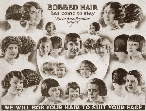Superb Bobbed Hair With Bangs 1920 Bobbed Hair Cuts 1920S Hair With Bangs Hairstyle Inspiration Daily Dogsangcom