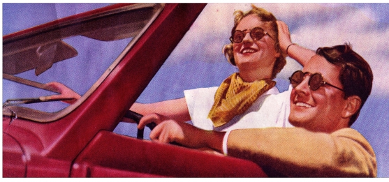 Sunglasses Make Their Mark in the Fashion World <br />(Click Magazine, 1939)