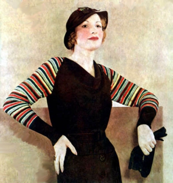 Broadway Costume Design for the Fall  <br />(Stage Magazine, 1933)