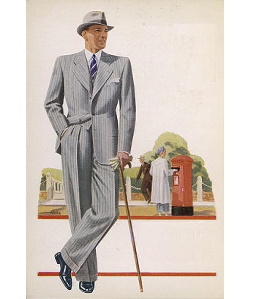 Men's Suits in the Summer of 1941 <br />(Collier's Magazine, 1941)