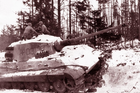 Killing Tiger Tanks in the Ardennes <br />(Newsweek Magazine, 1945)