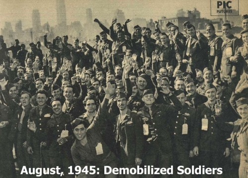 Demobilizing the  American Army of World War Two