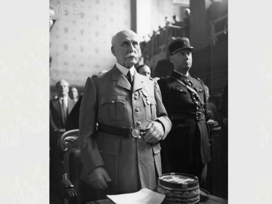 Pétain: ''Life in Prison'' <br />(Maptalk, 1945)
