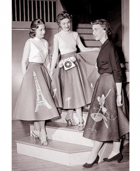 fads in 1950 s fashionsfifties fashion trendsfifties