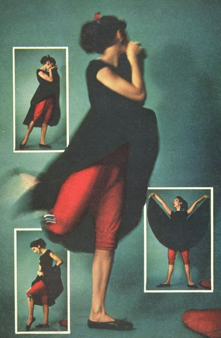 The Fad for Felt Fashion <br />(Quick Magazine, 1951)