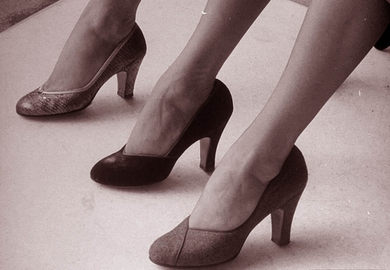 The Shoes of '52 <br />(Quick Magazine, 1952)