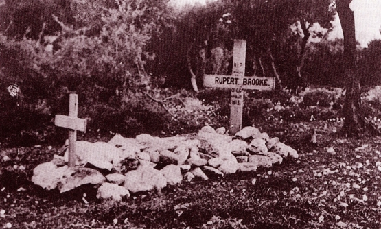 A Visit to the Grave of Rupert Brooke <br />(The London Mercury, 1920)
