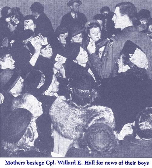 American Families Hear of Their PoW Sons <br />(Newsweek Magazine, 1945)