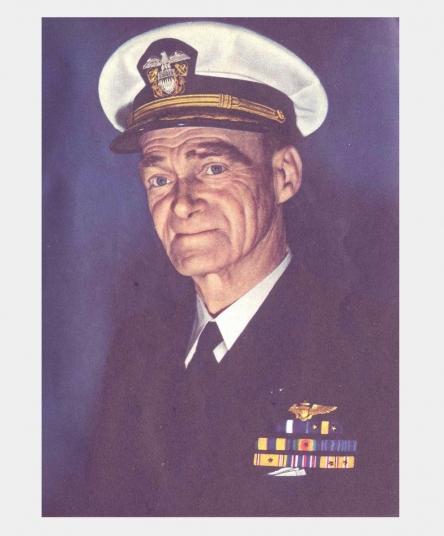 Admiral Mitscher, U.S.N. <br />(Coronet Magazine, 1945)