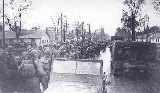 Scenes from Bastogne <br />(Yank Magazine, 1945)