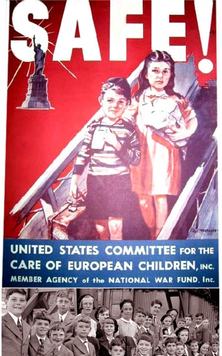 Thousands of British Children Welcomed <br />(<i>PM</i> Tabloid, 1940)