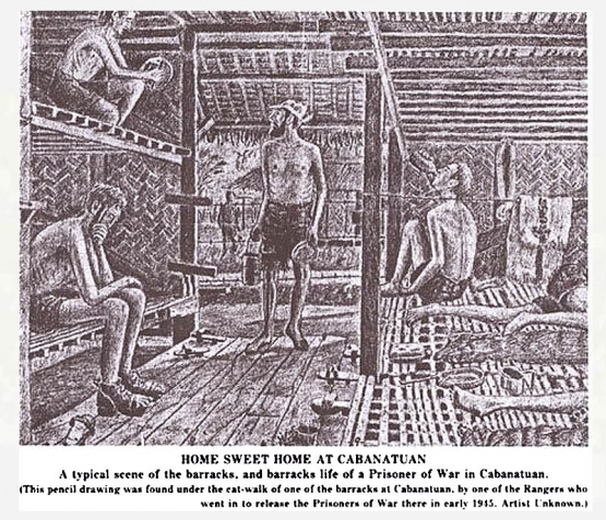 The Japanese Prison Camp at  Cabanatuan <br />(Yank Magazine, 1945)