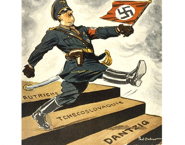 Danzig Nazis <br />(The Literary Digest, 1936)