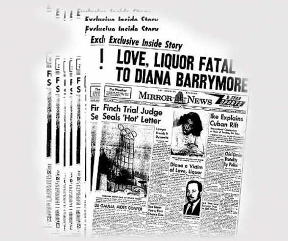 The Death of Diana Barrymore<BR> <br />(On the QT, 1960)