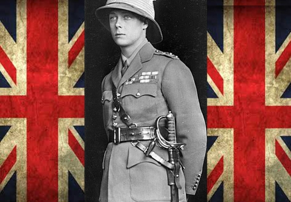 Edward VIII: the Soldier King <br />(Literary Digest, 1936)