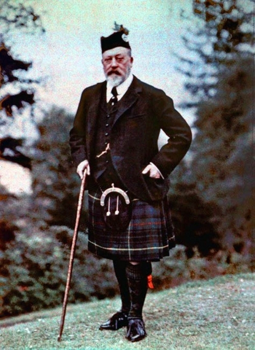 King Edward VII and Germany <br />(Review of Reviews, 1910)