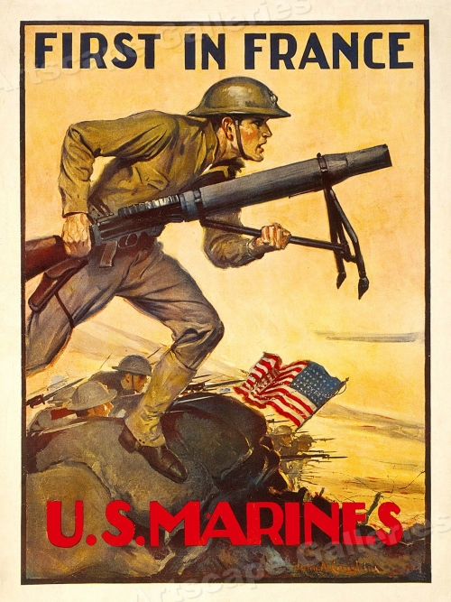 With The Marines <br />(Scribner's Magazine, 1919)