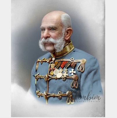 Franz Joseph: Geezer Emperor <br />(La Baionnette, 1915)