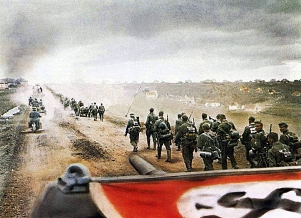 The German Eastward Thrust <br />(PM Tabloid 1941)