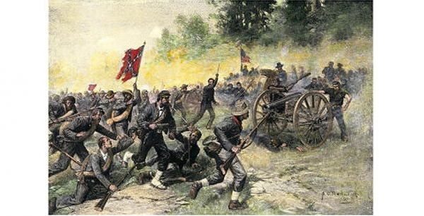 The Battle of Gettysburg: Day Two <br />(National Park Service, 1954)