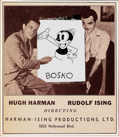 Hugh Harmon & Rudolf Ising: Animators <br />(Film Daily, 1939)