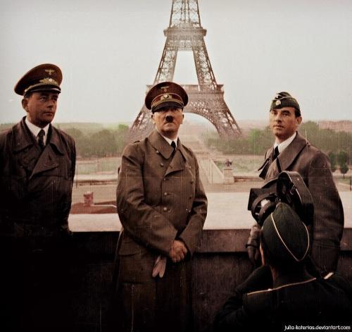 Hitler Prepares to Visit Paris <br />(PM Tabloid, 1940)