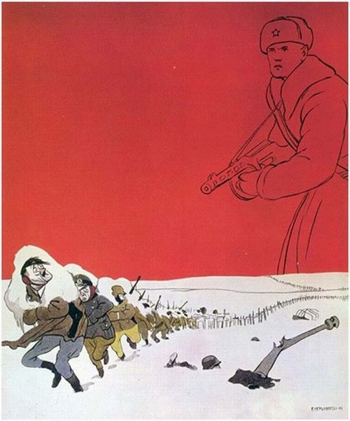 All-In for the Eastern Front <br />(PM Tabloid, 1942)