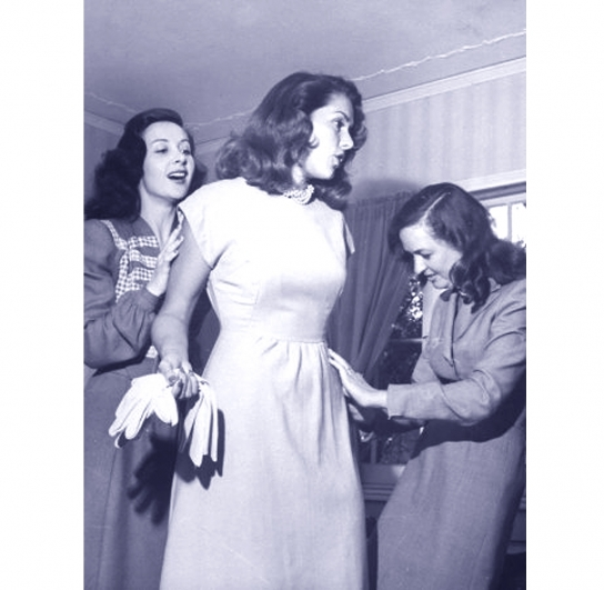 Top Model Jinks Falkenburg <br />(Click Magazine, 1940)