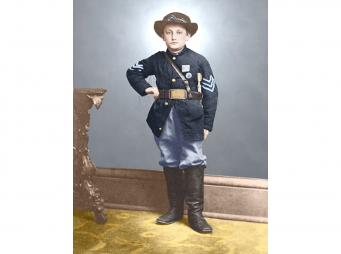 YOUNGEST BOY TO SERVE IN THE US ARMY,JOHNNY CLEM BOY SOLDIER IN ...