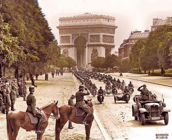 Nazis Take Paris <br />(PM Tabloid, 1940)