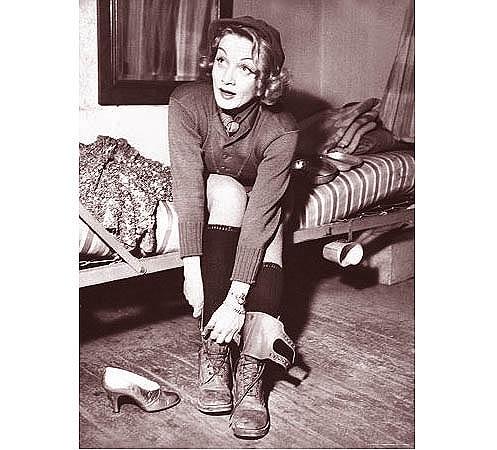 Marlene Dietrich Did Her Bit <br />(Yank Magazine, 1945)