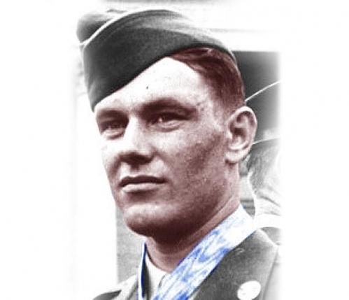 Medal of Honor Recipient Robert D. Maxwell <br />(Collier's, 1945)