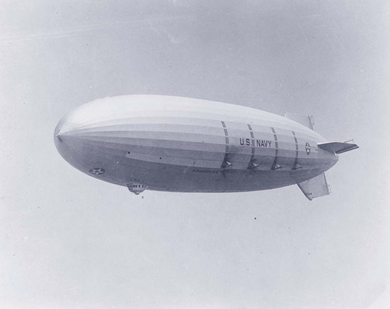 The Downfall of a Dirigible  <br />(The Independent, 1921)