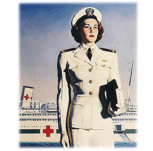 The Navy Nurse Corps <br />(Think Magazine, 1946)