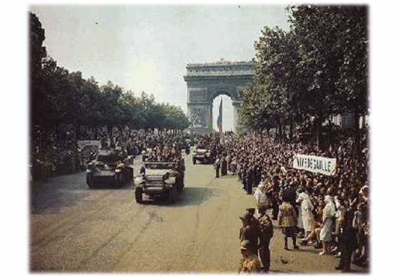 The Liberation of Paris <br />(Yank Magazine, 1944)