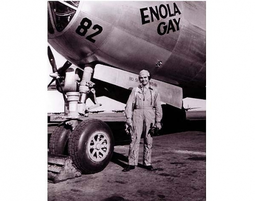 Paul Tibbets of the ENOLA GAY <br />(Yank Magazine, 1945)