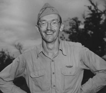 Richard Tregaskis of the International News Service <br />(Coronet, 1944)