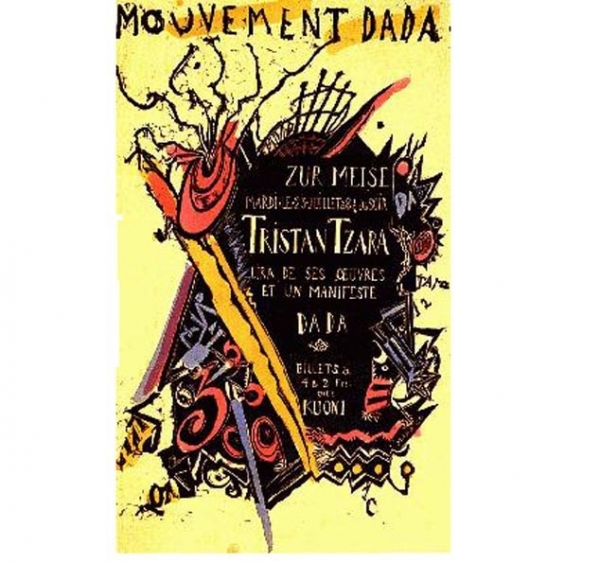 Tristann Tzara on Dada <br />(Vanity Fair, 1922)