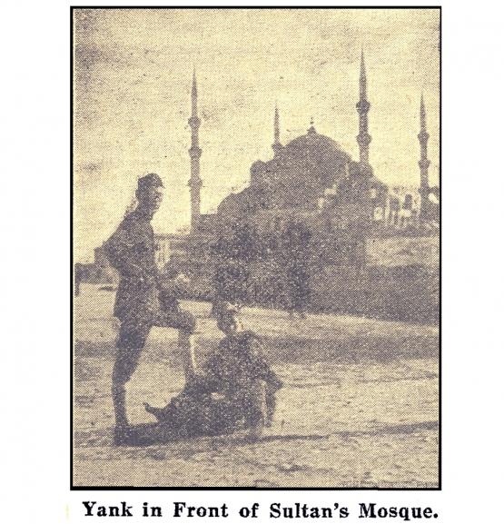 The U.S. Occupation of Turkey <br />(Pathfinder Magazine, 1920)