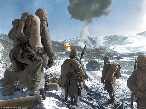The March from Chosin to the Sea <br />(Pathfinder Magazine, 1950)