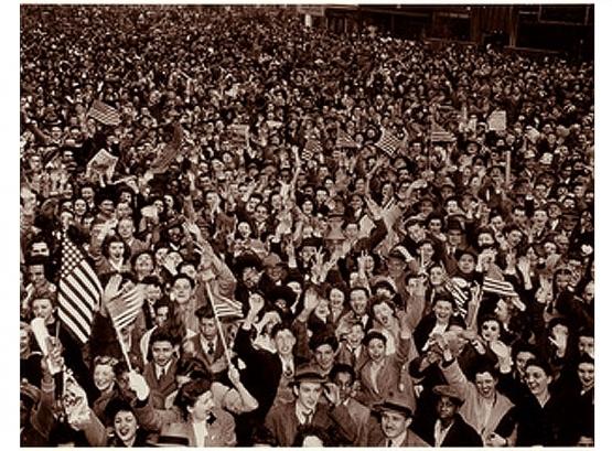 VJ Day in New York City <br />(Yank Magazine, 1945)