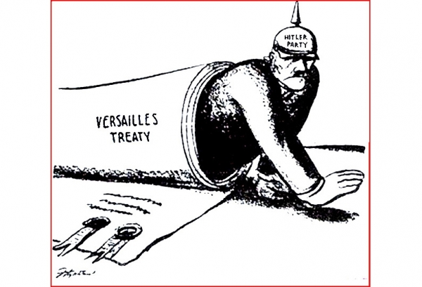 Versailles Treaty Violations <br />(Literary Digest, 1936)