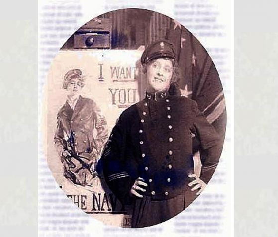 The 'Christy Girl' at War <br />(Sea Power Magazine, 1918)