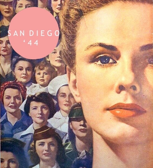 ''Sand Diego - A Woman's Town'' <br />(Click Magazine, 1944)