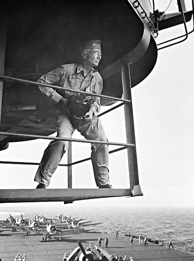 Captain Edward Steichen of the U.S.  Navy <br />(Collier's Magazine, 1945)