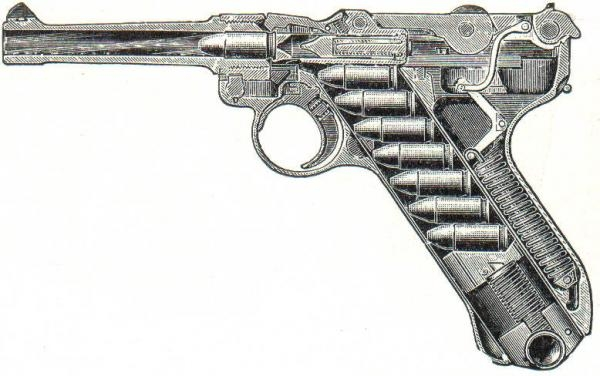 The German Luger  <br />(Yank Magazine, 1943)